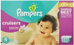 Pampers Cruisers Diapers Size 4 Economy Pack Plus 152 Count  for more Detail visit our website: http://premiumhealthproducts.com/