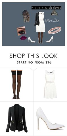 """Peri Lee The Maze Runner"" by amberjanik ❤ liked on Polyvore featuring Wolford, Pilot, Chicsense and Liza Schwartz"