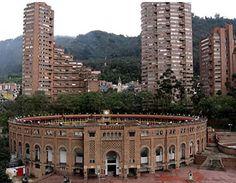 Plaza Cultural la Santa Maria en Bogotá. Colombia.