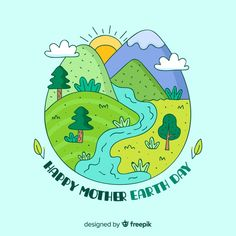 World Earth Day, Save Planet Earth, Save Mother Earth Poster, Save Earth Drawing, Save Earth Posters, Earth Logo, Earth Drawings, Earth Craft, Geography