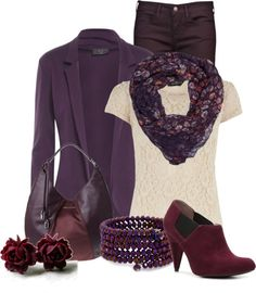 """Purples"" by aemorgan on Polyvore"