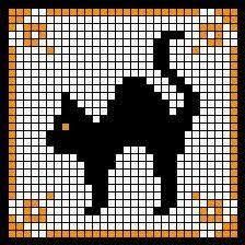 Image result for CROSS STITCH HALLOWEEN CATS