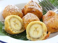 Gebackene Bananen