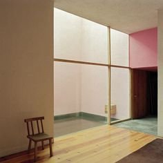 commissioned work in Casa Gilardi,Mexico City by Mexican architect Luis Barragán photographed by Kim Zwarts in 1988 and 1990