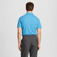 Men's Pique Golf Polo - C9 Champion - Summer Sky Blue Heather Xxl, Summer Sky Heather