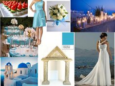 Greek Godess : PANTONE WEDDING Styleboard : The Dessy Group