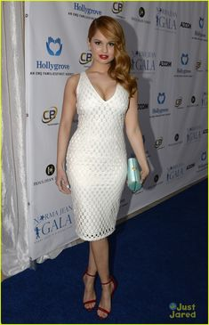 Debby Ryan Gives Back at 'The Norma Jean Gala' After First Album Photo Shoot | debby ryan norma jean gala 04 - Photo