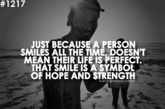 So true. Smile as it gives hope to thousands.