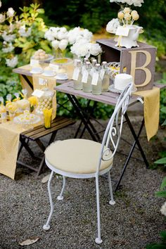 White and Yellow Details in an Engagement Party ♥ Бели и жълти детайли в годежно парти | 79 Ideas