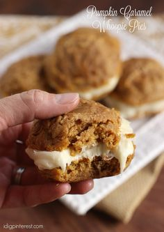 Bring a little bit of fall into your home with these soft pumpkin sandwich cookies with velvety-smooth caramel cream cheese frosting!     ...
