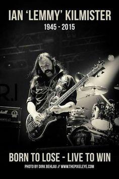 """Ian """"Lemmy"""" Kilmister"""