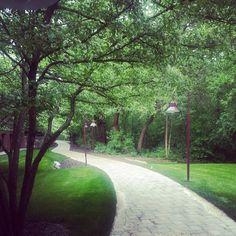 Fantastic shot of jogging paths at @Hyatt Lodge at McDonald's Campus from @kasiad0llka