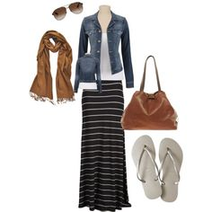 """""""For Tomorrow; Casual Friday then to the Airport! FL here we come =)"""" by chelecegtim on Polyvore"""