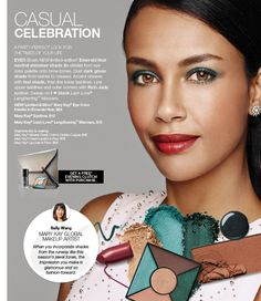 Make a glamorous impression with the bright, beautiful makeup application featured in the Mary Kay® Casual Celebration Look!