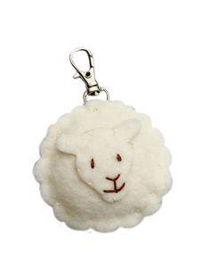 Summer Souvenirs -- Lammy Keychain