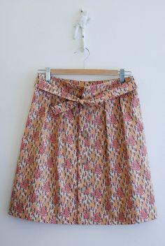 Wiksten: tulip skirt pattern from stitch magazine