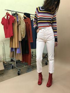 GANNI   Mercer Sweater - Multi