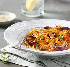Spaghetti with Roasted Vegetable Sauce | Vitamix