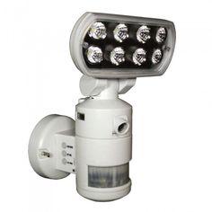 Nightwatcher Robotic Security Motion Lightning Camera Surveillance Equipment, Home Surveillance, Contemporary Outdoor Lighting, Outdoor Wall Lighting, Home Protection, Led Flood Lights, Light Camera