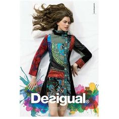 Desigual Ad Campaign Fall/Winter 2009 Shot #4 ❤ liked on Polyvore