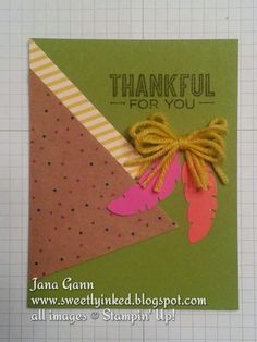 Sweetly Inked by Jana.  Stampin' Up! October Paper Pumpkin