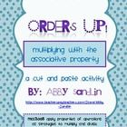 Get your students excited about the associative property of multiplication with this fun and interactive cut and paste activity! Students will solv...