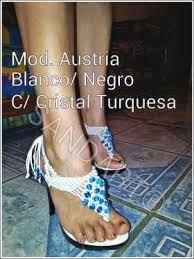 Resultado de imagen para manualidades de sandalias tejidas
