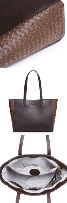 Lustrous coffee & cognac leather, a plush canvas interior and gold hardware are the ingredients for your new favorite tote. The reviews speak for themselves, read them in our Etsy shop.