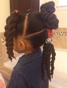 Photos: 15 little girl hairstyles for frizzy hair Photos: 15 little girl hairst Childrens Hairstyles, Lil Girl Hairstyles, Girls Natural Hairstyles, Natural Hairstyles For Kids, Princess Hairstyles, Toddler Hairstyles, Braided Hairstyles, Braids For Kids, Girls Braids
