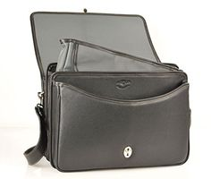 Leather Laptop Briefcase Color: Tan  http://www.alltravelbag.com/leather-laptop-briefcase-color-tan-5/