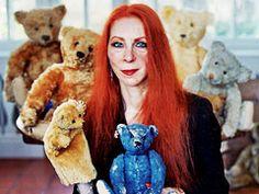 blue bear with ydessa hendeles