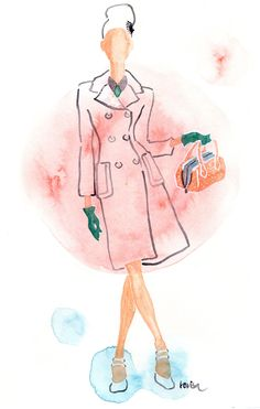 Fall 2015, Resort Fashion Illustration 2016