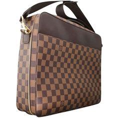 573abfb698eb The Louis Vuitton Porte Porte-ordinateur Sabana Computer Case Briefcase  Damier Ebene Brown Laptop Bag is a top 10 member favorite on Tradesy.