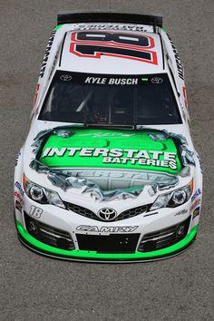 Kyle Busch at Auto Club Speedway