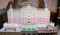 Video: The Grand Budapest Hotel Lego Made In Los Angeles