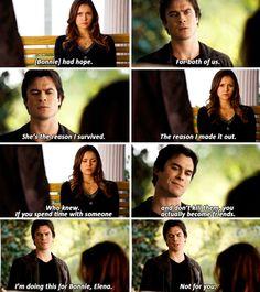 "#TVD 6x09 ""Alone"" - Damon and Elena"