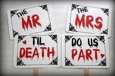 goth wedding photo booth - Google Search