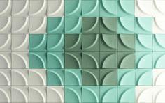 Gaia Acoustic panel Blå Station Stone Designs