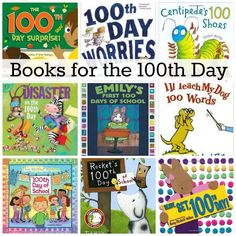Looking for books to read on the 100th Day of School? This list of picture books is perfect for your one hundredth day celebration!