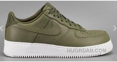 1124655de60 NIKE LAB AIR FORCE 1 LOW 36-45 Limited Edition Olive Green Sneaker