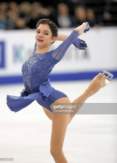 Evgenia Medvedeva of Russia competes in the Ladies Free Skate on Day 6 of the ISU World Figure Skating Championships 2016 at TD Garden on April 2, 2016 in Boston, Massachusetts.