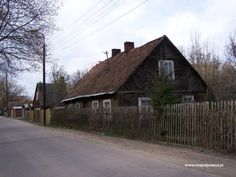 Wooden buildings - Bialystok pictures