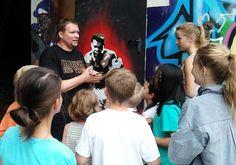 Graffiti bei deiner Geburtstagsparty lernen - Buche jetzt bei TeenEvent