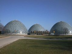 Horticulture Domes in Milwaukee landmarks - Google Search