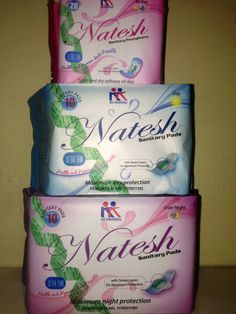This is our sanitary pads..