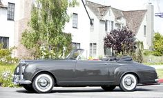 1958 Drophead Coupé by H.J. Mulliner  Maintenance/restoration of old/vintage vehicles: the material for new cogs/casters/gears/pads could be cast polyamide which I (Cast polyamide) can produce. My contact: tatjana.alic@windowslive.com