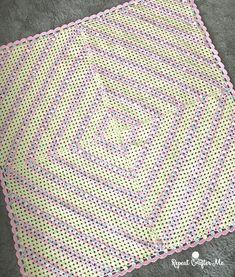 C2C Granny Stitch Blanket