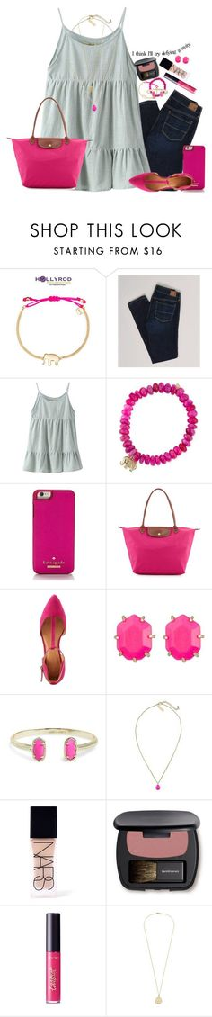 """defying gravity"" by mehanahan ❤ liked on Polyvore featuring Stella & Dot, American Eagle Outfitters, Chicnova Fashion, Sydney Evan, Kate Spade, Longchamp, Charlotte Russe, Kendra Scott, NARS Cosmetics and Bare Escentuals"