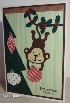 Crafting with Katie: MCT Twelve Days of Christmas - Day 1