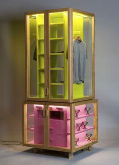 Ropero modular wardrobe by Hierve